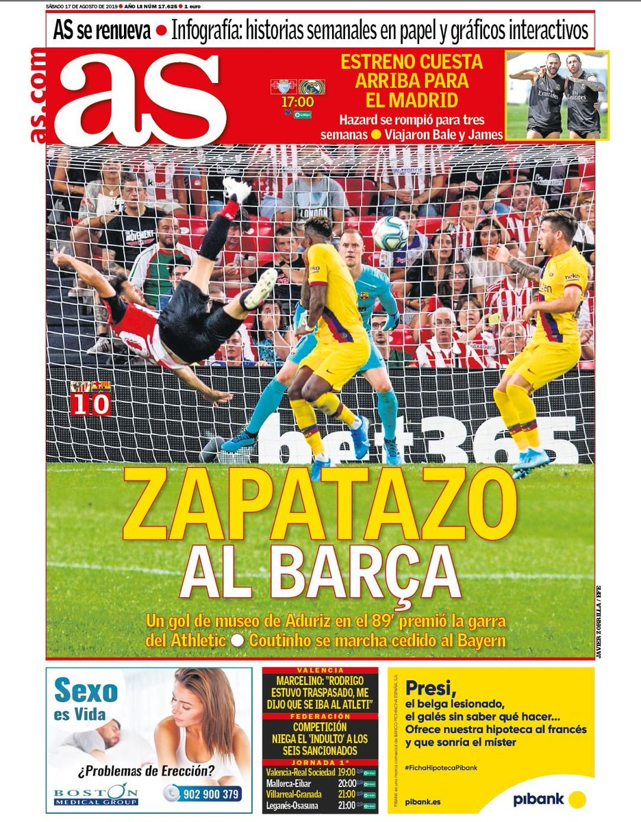 AS Headline Athletic 1-0 Barca